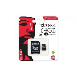 KINGSTON 64GB MICROSDXC...
